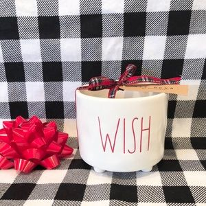 Rae Dunn WISH planter